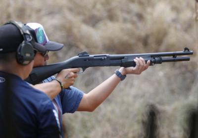 HRA Gun Koko Head Range Shooting Sports Fair shotgun. 19 june 2016