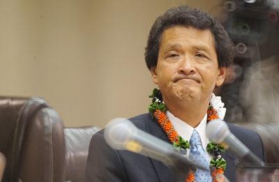 Honolulu City Council member Ron Menor. 1 june 2016.