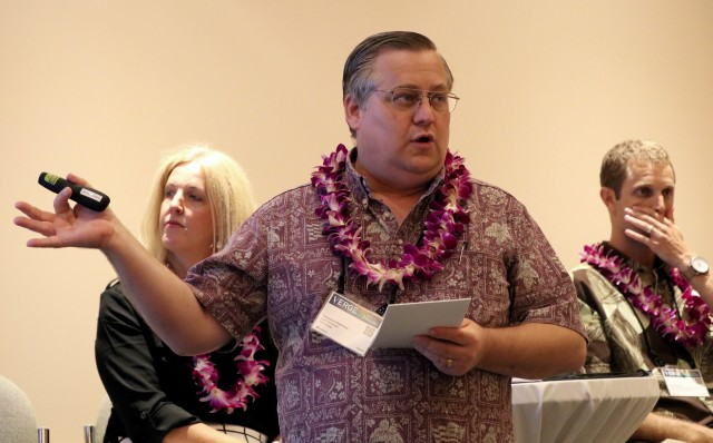 Ted Peck, former state energy administrator who now heads Holu Energy, is working with Progression Hawaii Offshore Wind.