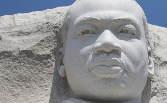 Martin Luther King memorial Washington DC1. 12 june 2016