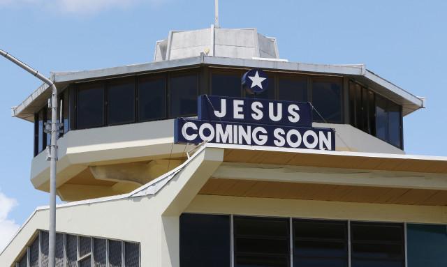 Middle Street Jesus coming Soon. 22 june 2016