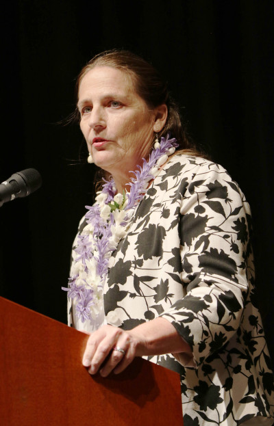 NOAA Assistant Administrator Eilene Sobeck