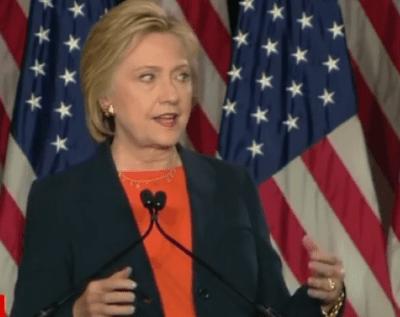 Hillary Clinton speech