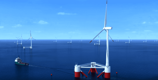 Principle Power is developing the technology to produce energy from offshore windmills.