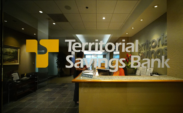 Territorial Savings Bank, 1032 Bishop Street, 22nd floor. 30 june 2016