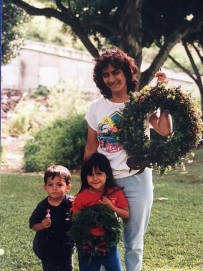 Grandma Denise, Kila and Jessica in 1997.