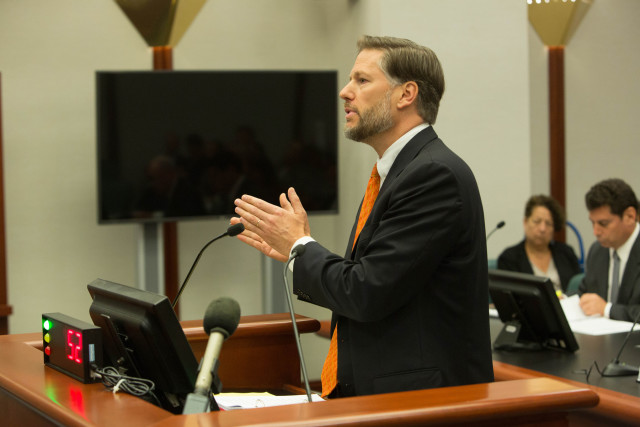 Attorney Christopher Landau argued on behalf of Syngenta Seeds.