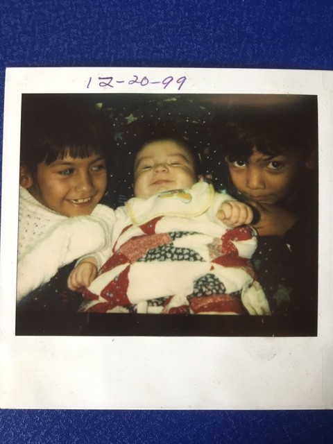 Kila, Joseph and Jessica shown in 1999, celebrate the holidays just two weeks before their mother got out of jail.