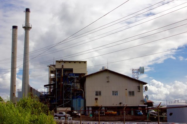 A Hawaiian Electric Light Co. plant on the Big Island is part of the network of power companies HECO acquired in the 1960s.