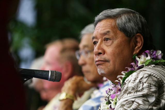 Hawaii Island Mayoral Forum Wally Lau. 14 july 2016