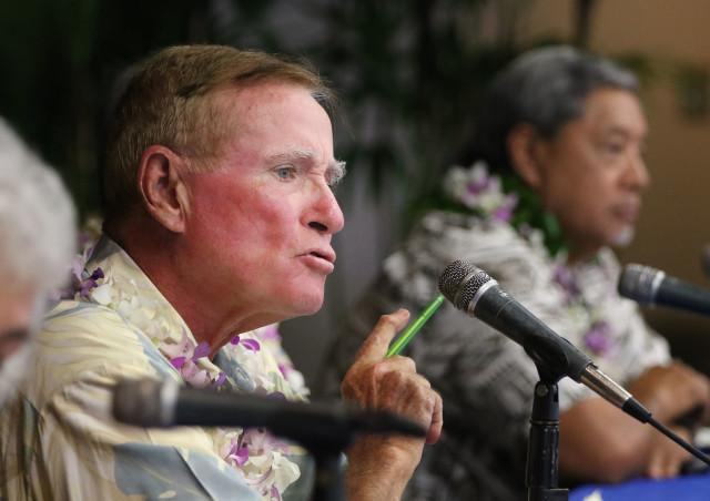 Hawaii island Mayoral Forum Peter Hoffmann. Sangha Hall. Hilo Hawaii. 15 july 2016