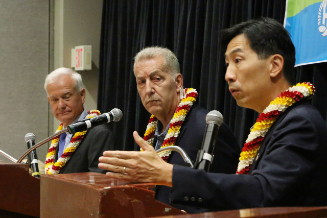 Honolulu Mayor Debate with Mayor Caldwell, Peter Carlisle and Charles Djou 14 july 2016
