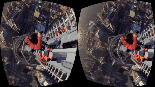 In this New York Times virtual reality app, users accompany climber Jimmy Chin as he ascends the spire atop 1 World Trade Center, in New York City.