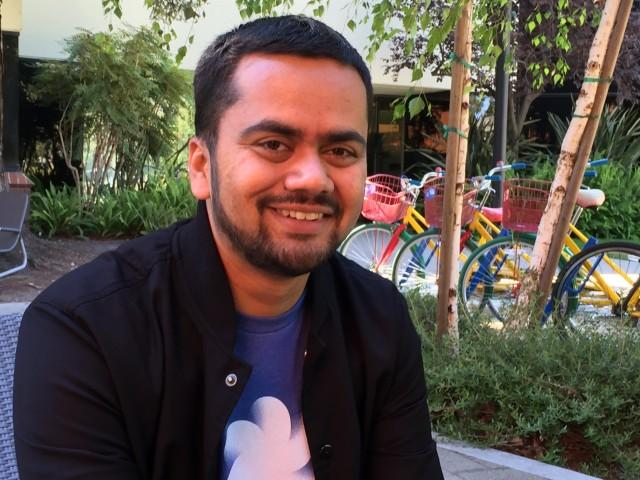 Anshuman Kumar designs interactive virtual reality experiences for Google.