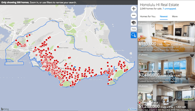 The median cost of a single-family home in Honolulu has reached $760,000.