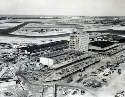 Honolulu International Airport was beefed up in 1961 to handle a surge in air traffic.