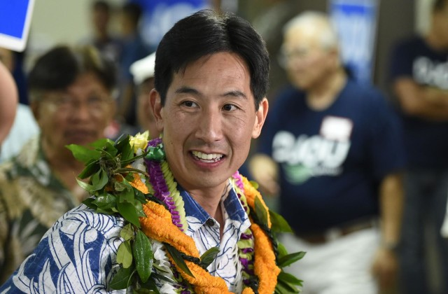 Charles Djou at the Pearl Country Club in Pearl City, HI, on Saturday, August 13, 2016.(Civil Beat photo by Ronen Zilberman)
