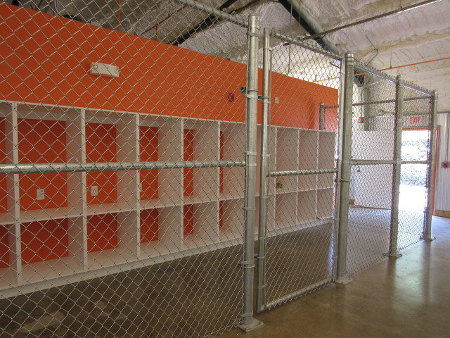 Guests of the Kakaako Family Assessment Center will have access to lockers to store their personal belongings, but they'll need to be escorted behind the locked gates.
