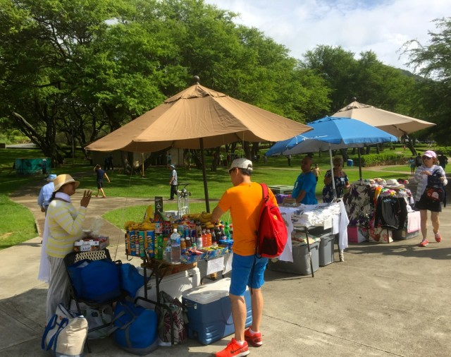 Some vendors compete directly with concessionaires who pay hundreds of thousands of dollars to sell food and drink, among other items at Hanauma Bay.