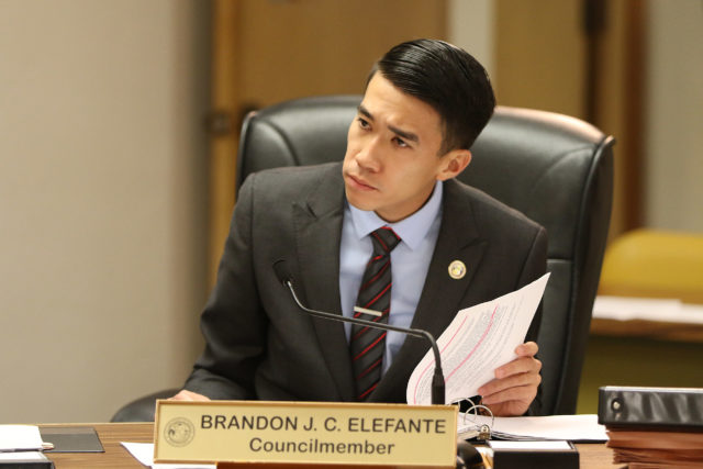 Honolulu City Council Member Brandon Elefante. 8 feb 2017