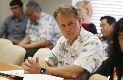 Hawaii Council on Revenues member Ed Case. 13 march 2017