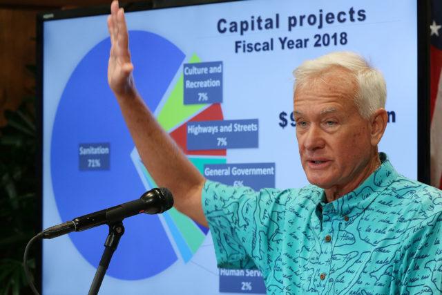 Mayor Caldwell Capital Projects 2018. 2 mar 2017