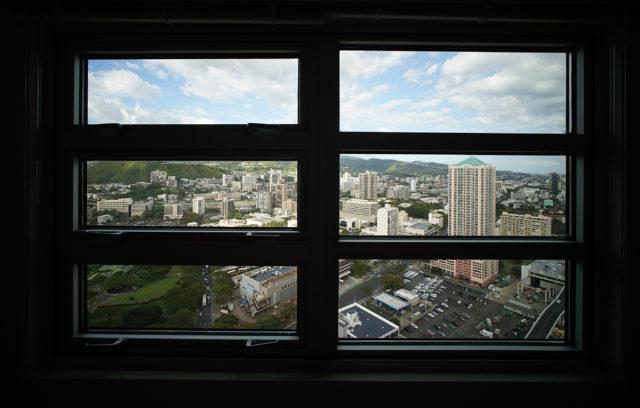 801 South Street view Honolulu city . 1 may 2017