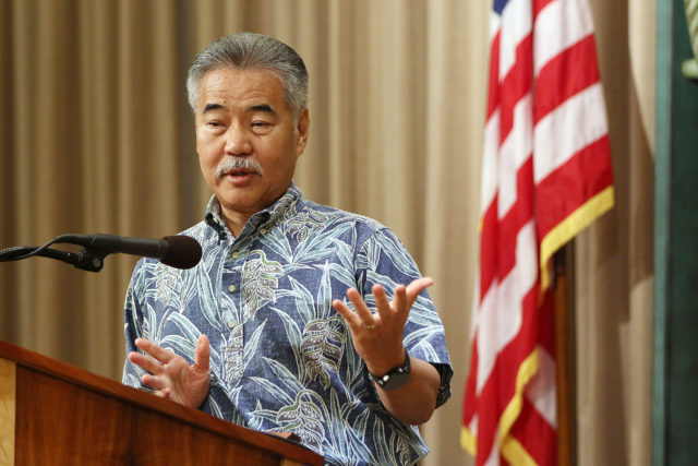 Governor David Ige presser. 3 may 2017