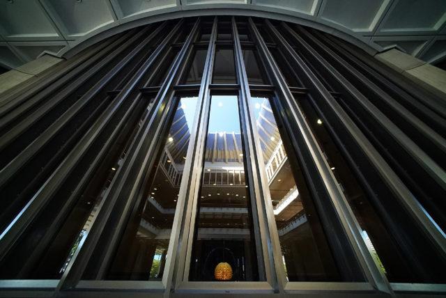 Senate reflections Capitol building. 2 may 2017