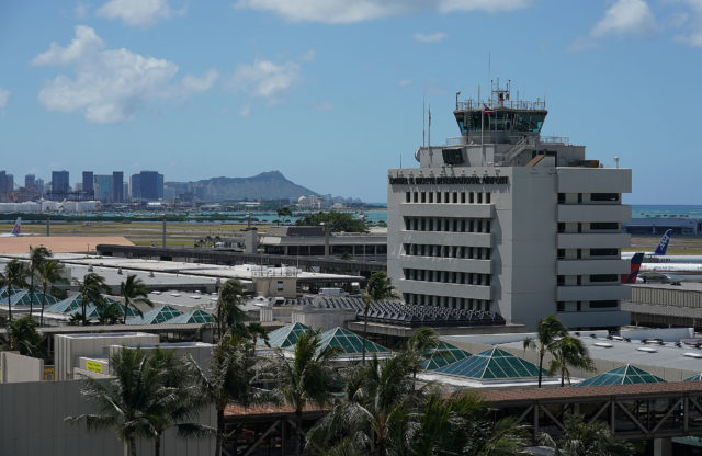 Daniel K Inouye International Airport. Honolulu. 5 june 2017