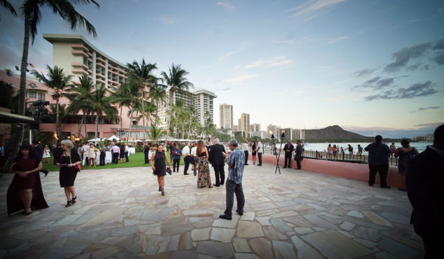 Hawaii's Forgotten Families Foundation Gala event held at the Royal Hawaiian Hotel Monarch Room.