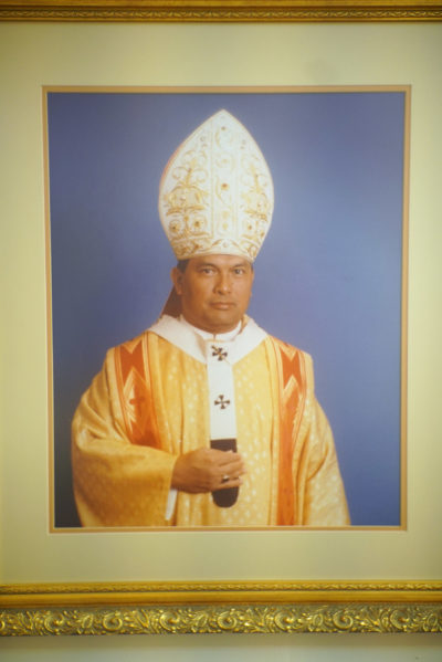 Guam Portrait of Archbishop Anthony Apuron museum.