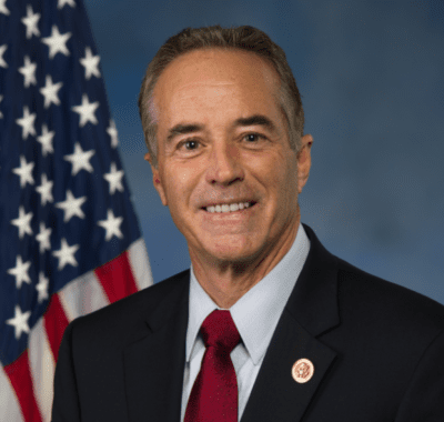 "U.S. Rep. Chris Collins touts his ""Grade A"" approval rating from the NRA"