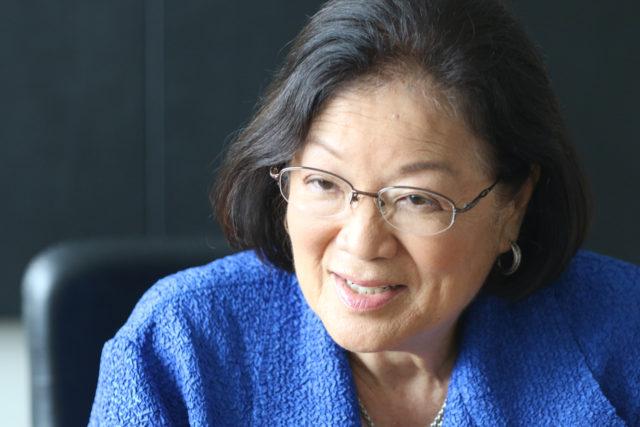 Senator Mazie Hirono inour editorial board.