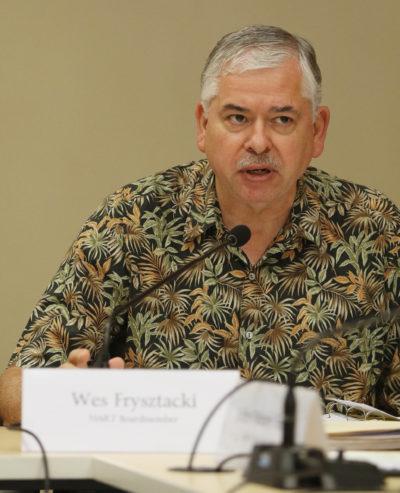 HART Board member Wes Frysztacki