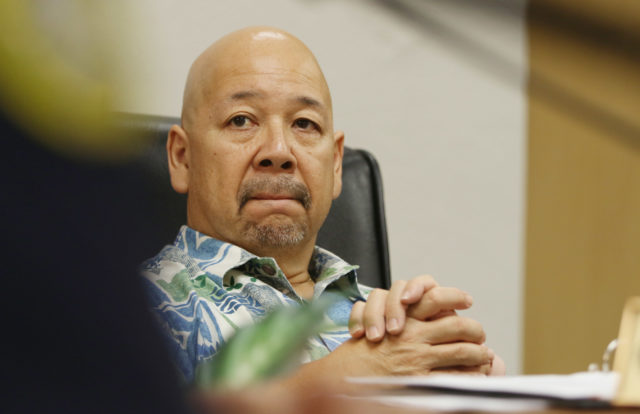 Honolulu City Council member Ernie Martin.