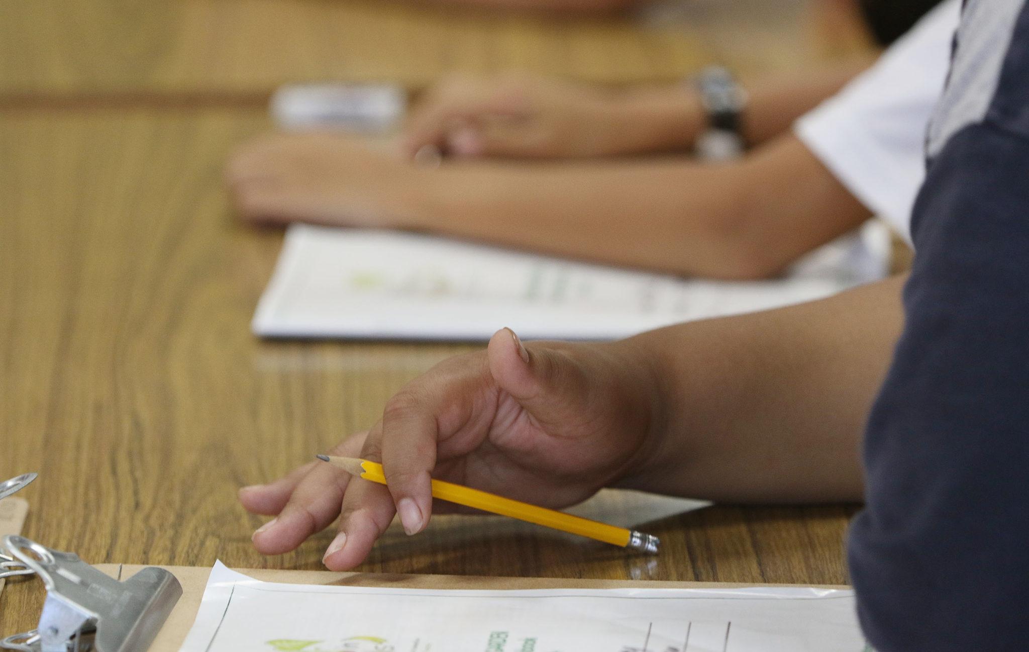 Ala Wai Elementary school 4th graders kids students.