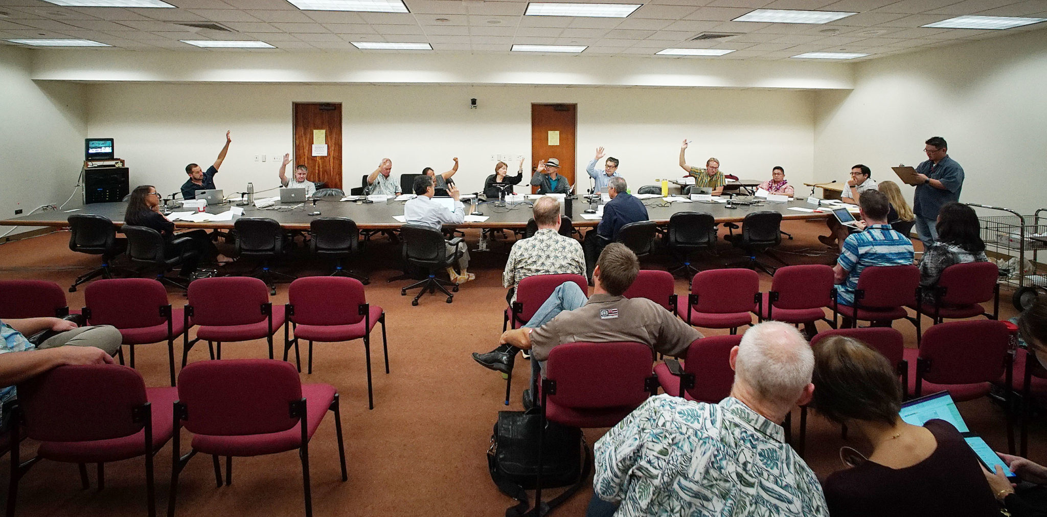 Capitol marijuana working group vote.