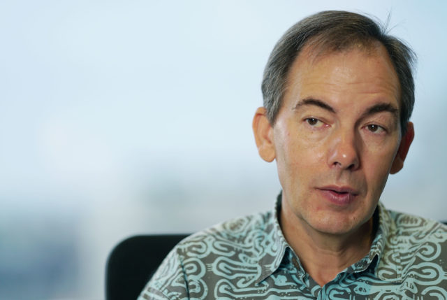 Hawaiian airlines CEO Mark Dunkerly.