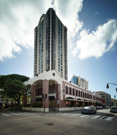 Chinatown Gateway Plaza 1031 Nuuanu Avenue.
