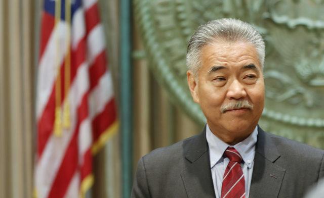 Governor David ige presser legislature opening .