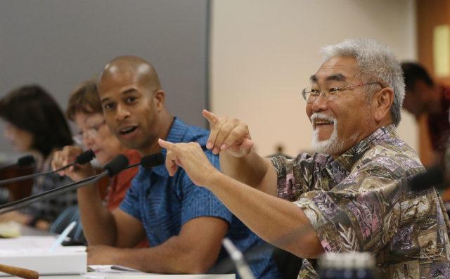 Rep Sam Kong joint senate house education hearing.
