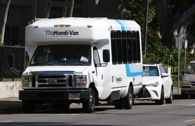 The Handi-Van.