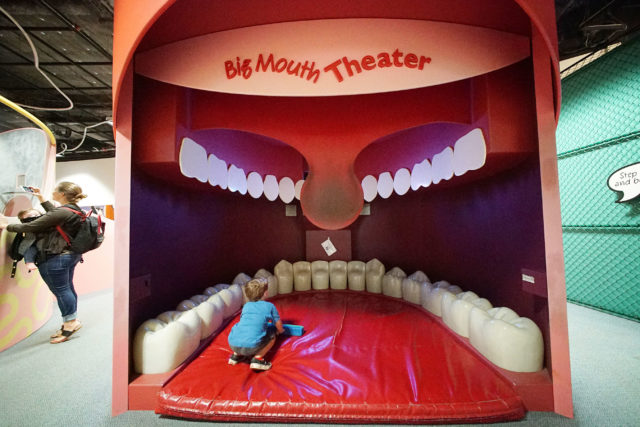 Hawaii Childrens Discovery Center Big Mouth Theater.
