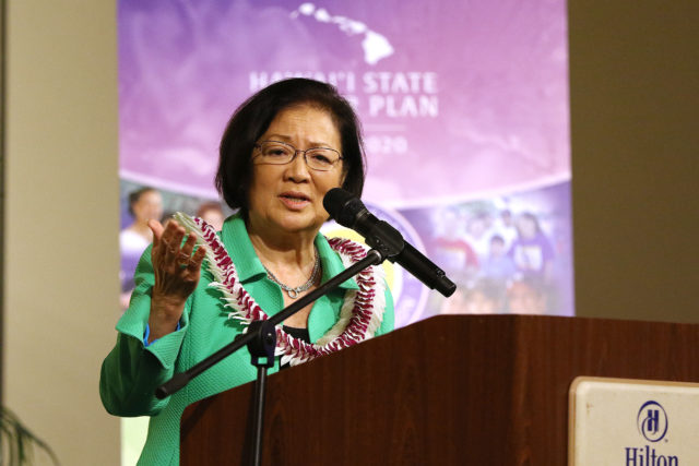 Hawaii Comprehensive Cancer Coalition (HCCC) has announced U.S. Sen. Mazie Hirono as the recipient of the 2018 Courage Award for her bravery and willingness to continue serving in Congress while battling Stage IV cancer.