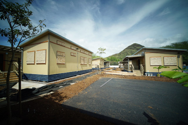 85 248 Farrington Road City developed housing featuring 16 units. 11 one bedroom and 5 two-bedroom units in Waianae.