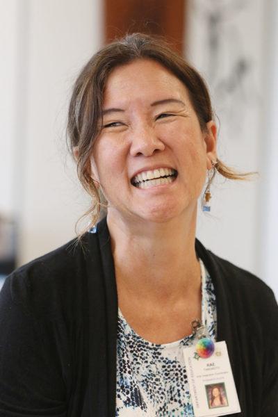 Rae Takemoto, Pomaikai Curriculum Coordinator.