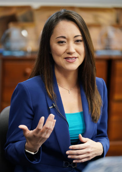 Rep Beth Fukumoto running for Congress 2018.