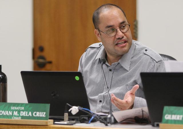 Sen Donovan Dela Cruz WAM chair. Ways and Means chair person.