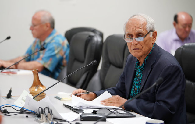 Chair Mike Gabbard in conference committee on pesticide measure reconvening tomorrow.